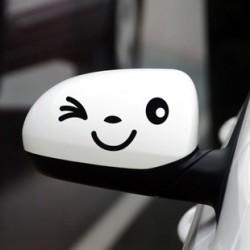Nálepka na auto Na spätné zrkadlo SMAJLÍK
