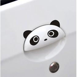 Nálepka na auto Na dverové ručky Panda