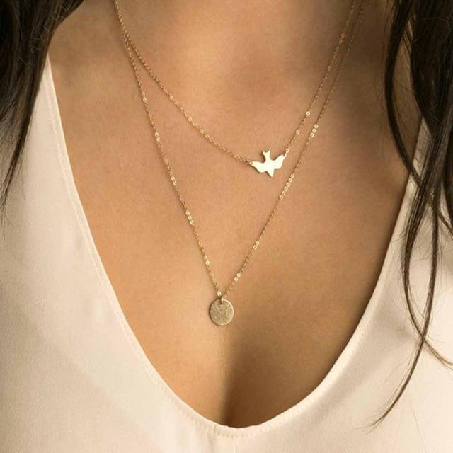 Kresťanský šperk, retiazka holubica
