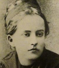 Kristína Royová v mladosti